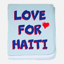 Love For Haiti baby blanket
