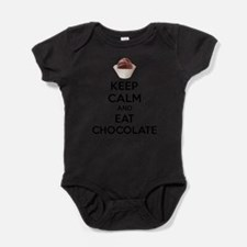 Keep calm and eat chocolate Body Suit