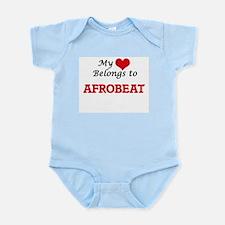 My heart belongs to Afrobeat Body Suit