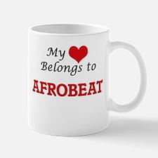 My heart belongs to Afrobeat Mugs