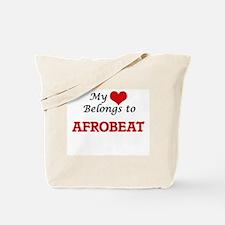 My heart belongs to Afrobeat Tote Bag