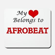My heart belongs to Afrobeat Mousepad