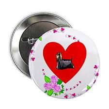 """Yorkie Love 2.25"""" Button"""