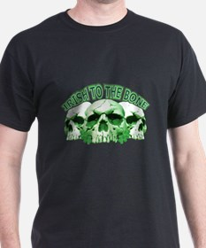 Irish to the Bone Skull T-Shirt