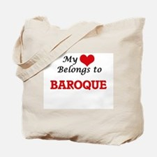 My heart belongs to Baroque Tote Bag
