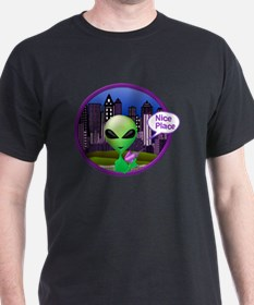 Unique Alien invasion T-Shirt