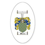 Warren Coat of Arms Oval Sticker