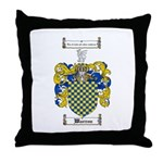 Warren Coat of Arms Throw Pillow