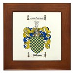 Warren Coat of Arms Framed Tile