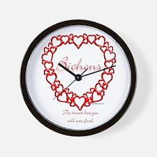 Bichon True Wall Clock