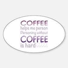 Cute Food and drink coffee Decal