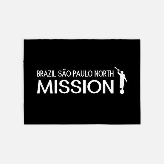 Brazil, São Paulo North Mission (Mo 5'x7'Area Rug
