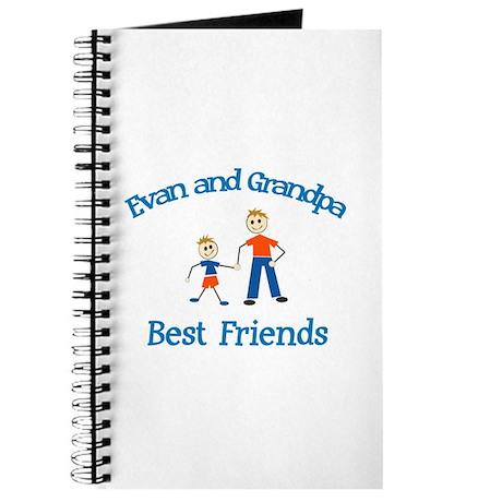 Evan & Grandpa - Best Friends Journal