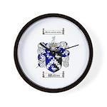 Walton Coat of Arms Wall Clock