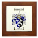 Walton Coat of Arms Framed Tile