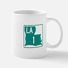 LA Highway 1 Sign Mug