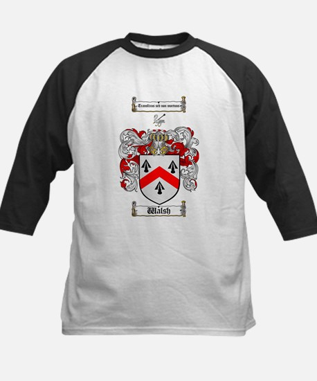 Walsh Coat of Arms Kids Baseball Jersey