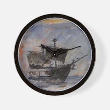 Unique Pirate ship Wall Clock