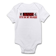 JUDO (IT'S IN MY BLOOD) Infant Bodysuit