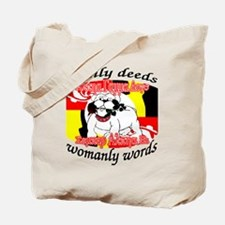 Alpha Gamma Dogs - Semper Alp Tote Bag