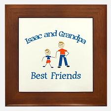 Isaac & Grandpa - Best Friend Framed Tile