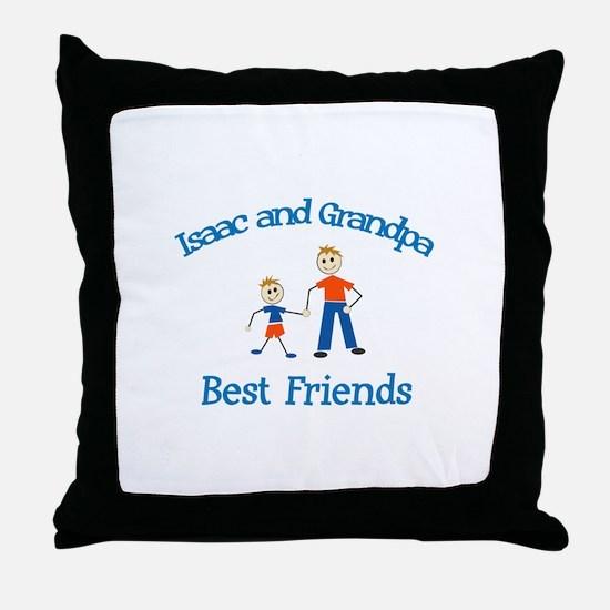 Isaac & Grandpa - Best Friend Throw Pillow