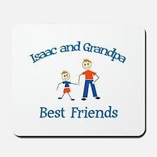 Isaac & Grandpa - Best Friend Mousepad