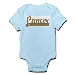 Retro Cancer Infant Creeper