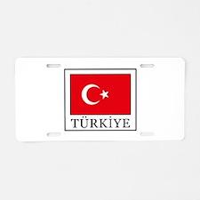 Turkiye Aluminum License Plate