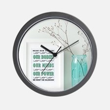 FRAME PRINT VIGNETTE Wall Clock