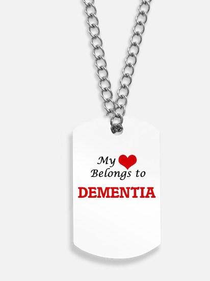 My heart belongs to Dementia Dog Tags