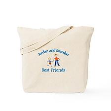 Jordan & Grandpa - Best Frien Tote Bag