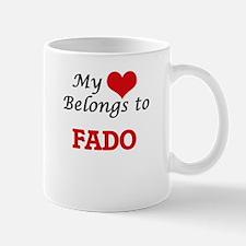 My heart belongs to Fado Mugs