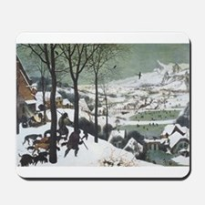 Hunters in the Snow Mousepad