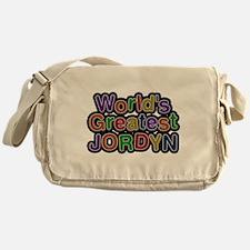 Worlds Greatest Jordyn Messenger Bag