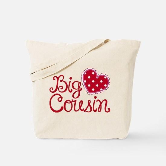 Heart Big Cousin Tote Bag