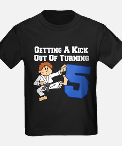 Karate Fifth Birthday T-Shirt