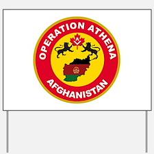 Operation Athena Yard Sign
