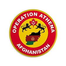 """Operation Athena 3.5"""" Button"""