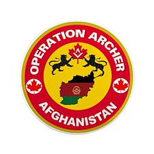 "Operation Archer 3.5"" Button"