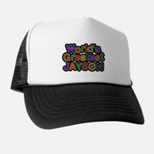 Worlds Greatest Jayson Trucker Hat