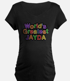 Worlds Greatest Jayda Maternity T-Shirt