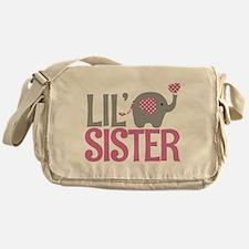 Elephant Little Sister Messenger Bag