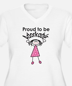Proud to be Adorkable-Girl Plus Size T-Shirt