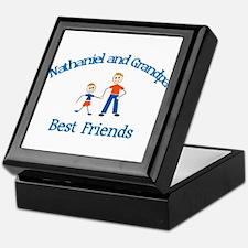 Nathaniel & Grandpa - Best Fr Keepsake Box