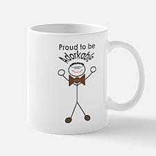 Proud to be Adorkable-Man Mugs