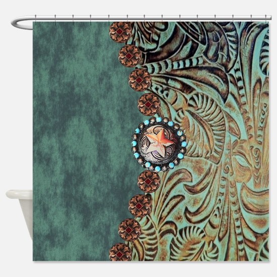 Western Shower Curtains | Western Fabric Shower Curtain Liner