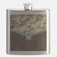 Cool Leather Flask