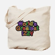 Worlds Greatest Izzy Tote Bag