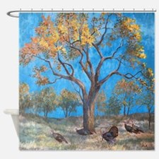 Unique Gold country Shower Curtain